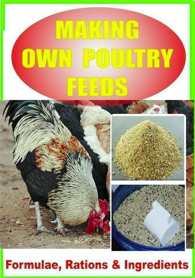 Calculations in making own poultry feed